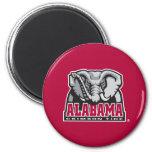 Marca grande del Al de Alabama Imanes Para Frigoríficos