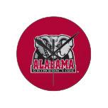 Marca grande del Al de Alabama Reloj De Pared