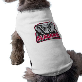 Marca grande del Al de Alabama Playera Sin Mangas Para Perro