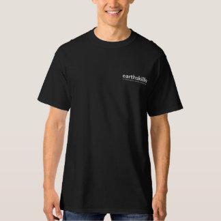 Marca invertida en camiseta rolliza playera