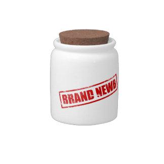Marca Newb (sellado) Jarras Para Caramelos