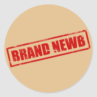 Marca Newb (sellado) Etiquetas Redondas