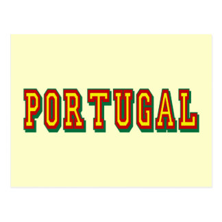 """Marca """"Portugal"""" por Fás do Futebol Português Postcard"""