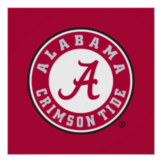 Marca primaria de Alabama Póster
