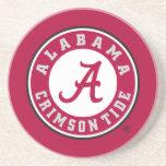 Marca primaria de Alabama - rojo Posavasos Personalizados