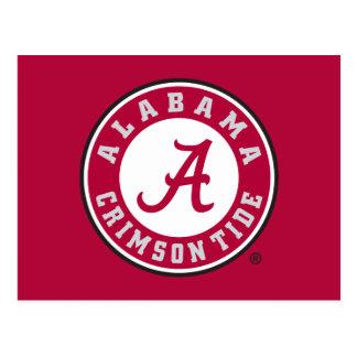Marca primaria de Alabama - rojo Postal