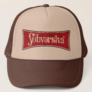 marca-subversiva-manchado-01 trucker hat