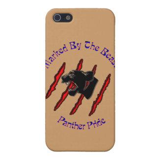 Marcado por la bestia iPhone 5 protector