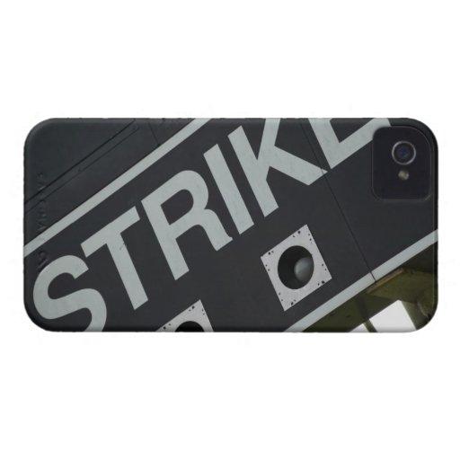 Marcador 3 del béisbol Case-Mate iPhone 4 coberturas