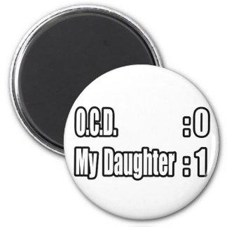 Marcador de OCD (hija) Imán De Frigorífico