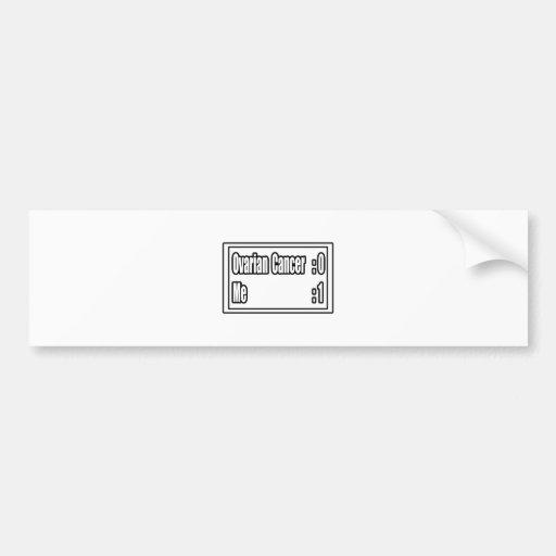 Marcador del cáncer ovárico etiqueta de parachoque