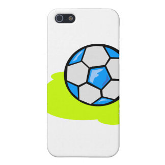 Marcador del fútbol iPhone 5 cárcasas
