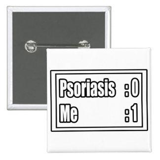 Marcador del psoriasis pin cuadrada 5 cm