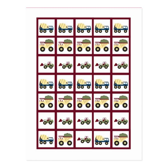 Marcadores de la tarjeta del bingo de la fiesta de postal