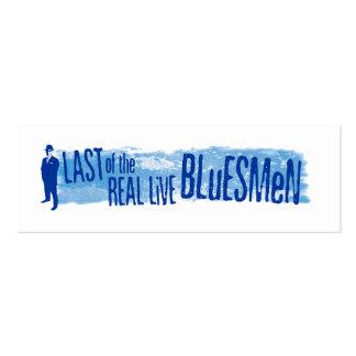 Marcas de libro vivas reales de los Bluesmen Tarjetas De Visita Mini
