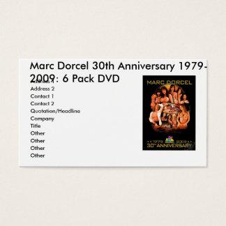 MARCDORCEL30, Marc Dorcel 30th Anniversary 1979... Business Card