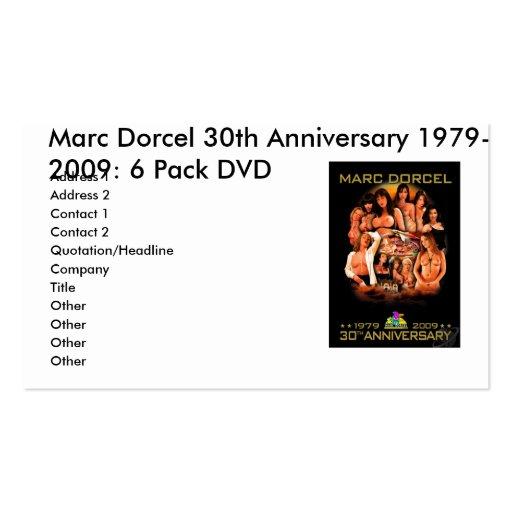 MARCDORCEL30, trigésimo aniversario 1979 de Marc D Tarjetas Personales