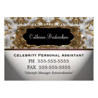 Marcee Personal Assistant Professional Large Business Cards (Pack Of 100)