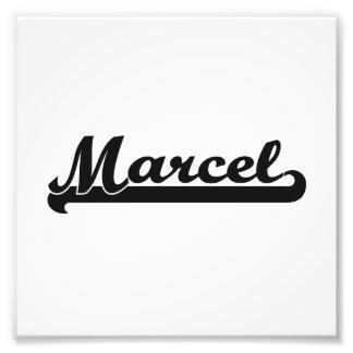 Marcel Classic Retro Name Design Photo Print