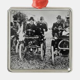 Marcel (d.1903) and Louis (1877-1944) Renault driv Metal Ornament