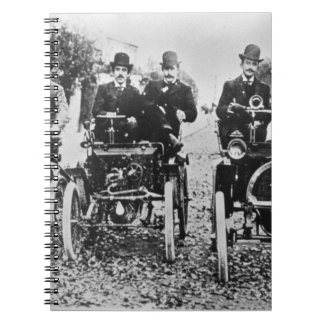 Marcel (d.1903) and Louis (1877-1944) Renault driv Notebooks