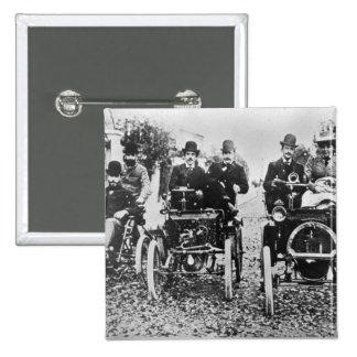Marcel (d.1903) and Louis (1877-1944) Renault driv Pinback Button