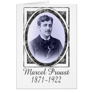 Marcel Proust Card