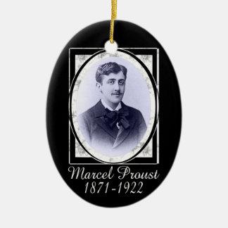Marcel Proust Ceramic Ornament