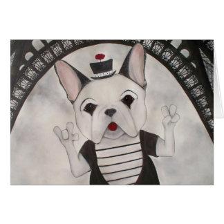 Marcel, the French Bulldog Card