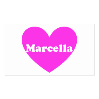 Marcela Tarjetas De Visita