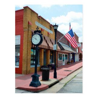 Marceline, Missouri, Main Street USA Postcard