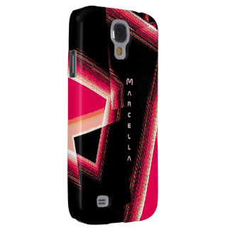 Marcella Black and Red Samsung Galaxy S4 case