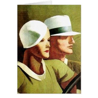 """Marcello Dudovich Book Cover """"Beautiful And The Da Card"""