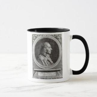 Marcello Malpighi  aged 67, 1694 Mug