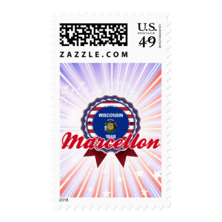 Marcellon, WI Postage Stamps