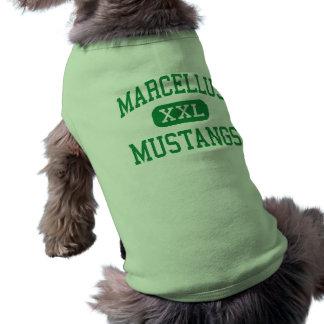 Marcellus - Mustangs - High - Marcellus New York Pet Tee