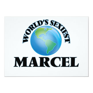 Marcelo más atractivo del mundo comunicados personalizados