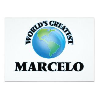 Marcelo más grande del mundo comunicados personales