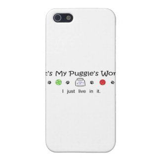 march15b15Puggle.jpg Case For iPhone SE/5/5s
