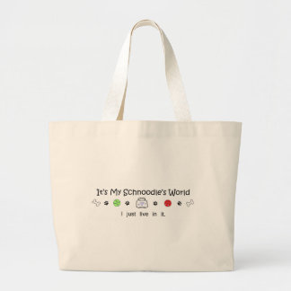 march15b15Schnoodle.jpg Large Tote Bag