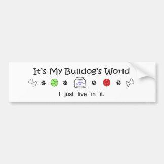 march1615Bulldog.jpg Bumper Sticker