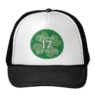 March 17th St. Patty's Day Hat