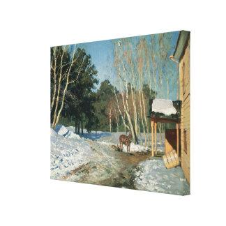 March, 1895 canvas prints