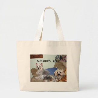 MARCH 18, 2008 009_edited, MORKIES  RULE Tote Bags
