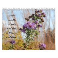 March 2012~February 2013 Flower Calendar