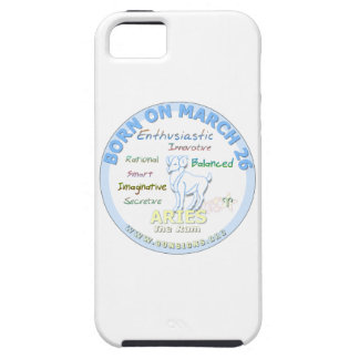 March 26th Birthday - Aries iPhone 5/5S Case