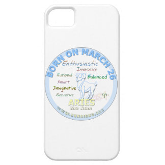 March 26th Birthday - Aries Case For iPhone 5/5S