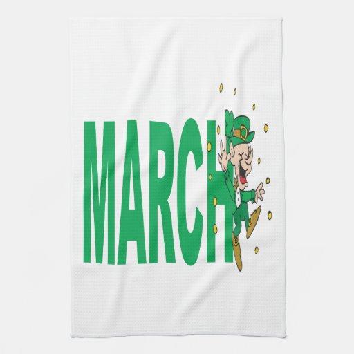 March 2 towel