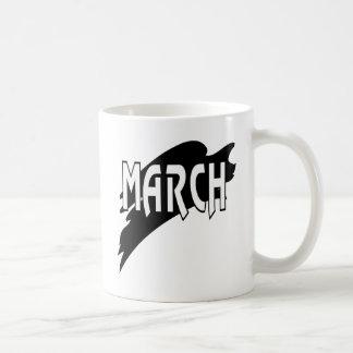 March 3 coffee mug