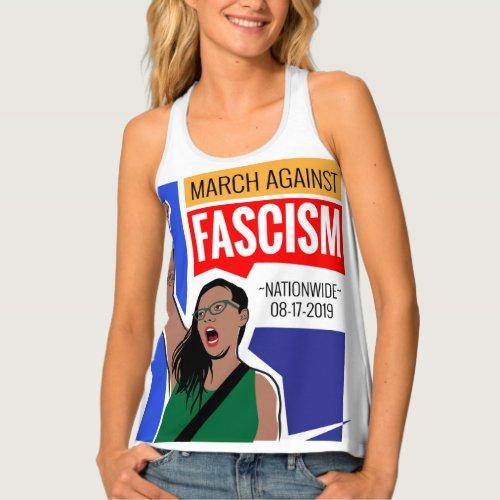 March Against Fascism Tank Top